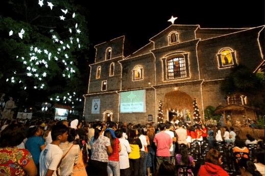 Vive una Navidad diferente en Filipinas