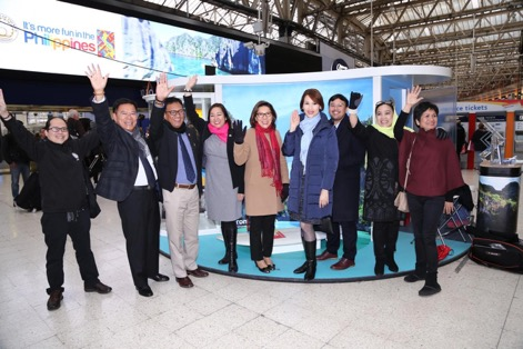PHL travel destinations featured at London's Waterloo Station