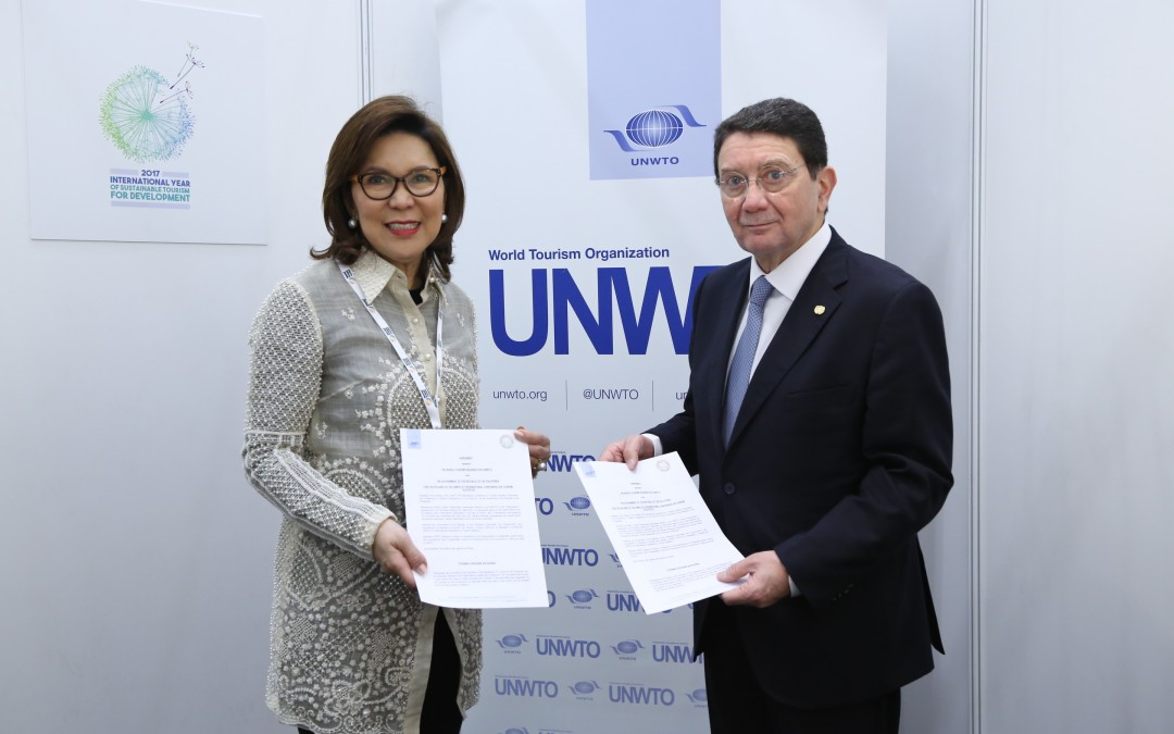 DOT and UNWTO sign agreement on the holding of the 6th International Conference on Tourism Statistics