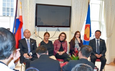 Teo exhorts UK Pinoys to be tourism ambassadors