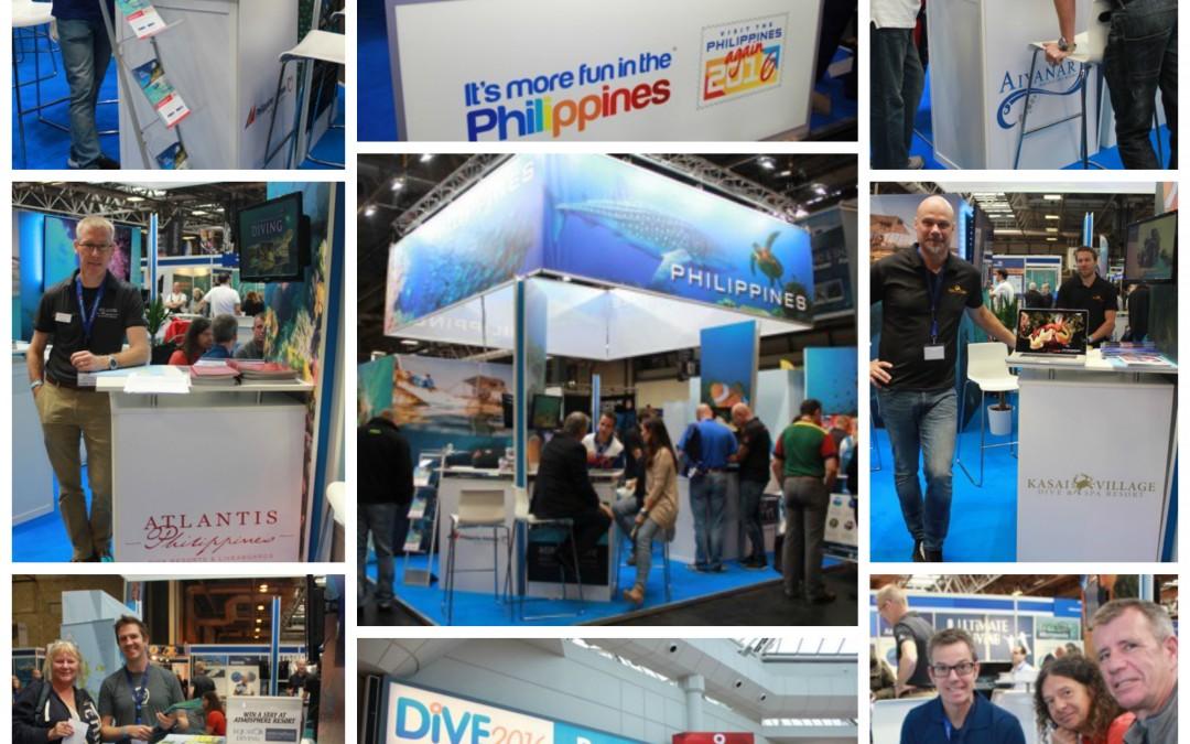 Philippines at Dive Birmingham, NEC