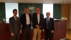 Gerard Panga, Tourism Attache and Director and Richard De Villa of PDOT London meet with Cathay Pacific for planning - 28 June