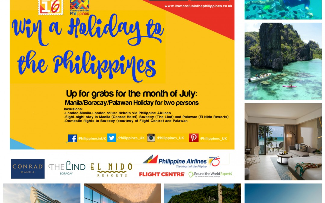 Win a Holiday to the Philippines at King's Cross Station